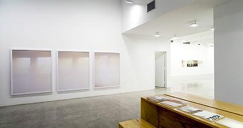 Installation view, Tanya Bonakdar Gallery, New York 2007